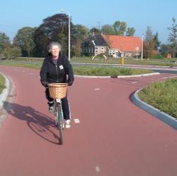 Modern cycling facilities