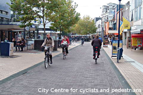 A city centre designed for people, not vehicles